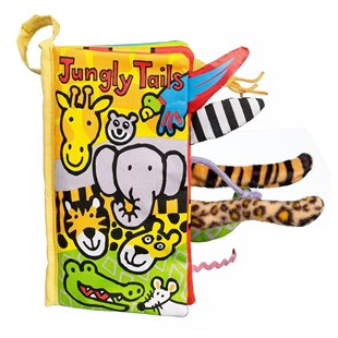 Jellycat Bez Kitap/Jungly Tails
