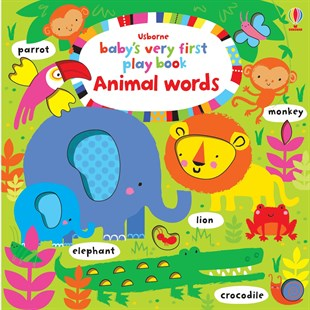 Usborne Babys Very First Play Book Animal Words