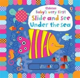 Usborne Babys Very First Slide &See Under the Sea
